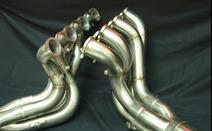 "<p><br></p><p>This set of headers was built for a Pro Mod big block Chevy with 5.3 bore spacing. Fabricated with 2 1/2"" .049 321 stainless primary tubes and a 5"" diameter secondary merge collector.</p>"