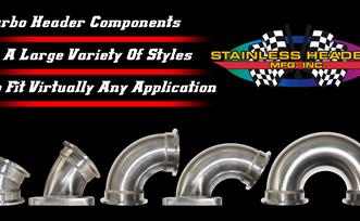 Turbo Header Elbows and Components