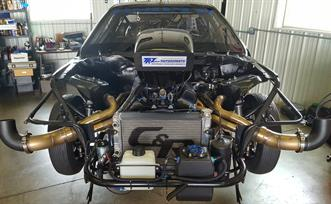 Custom Nitrous Small Block Headers